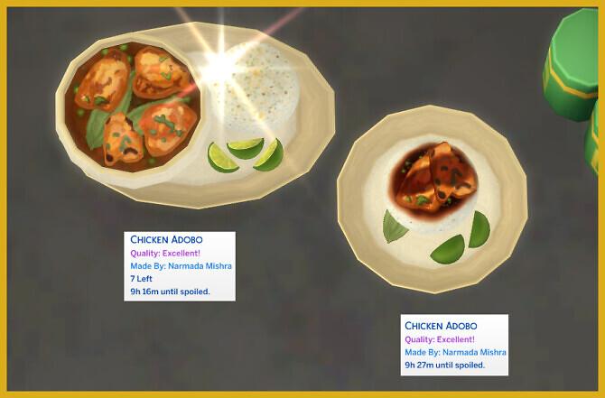Sims 4 CHICKEN ADOBO at Icemunmun