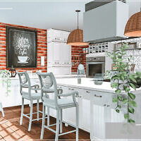 Lenka Sunny Kitchen By Moniamay72