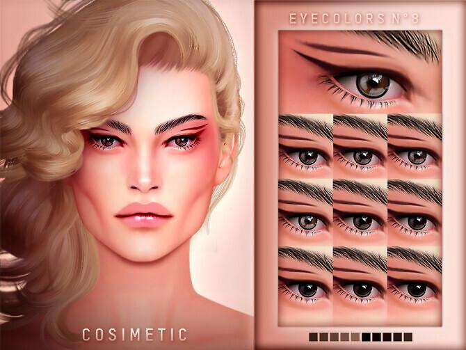 Eyecolors N8 by COSIMETIC