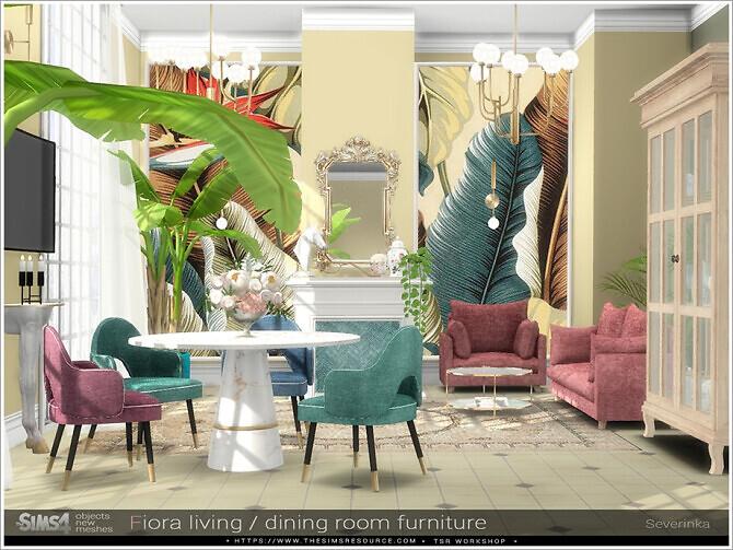 Fiora living dining room furniture by Severinka