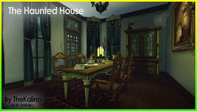 Sims 4 The Haunted House at Kalino
