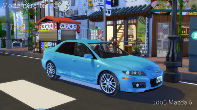2006 Mazda 6 Sims 4