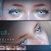 3d Eyelashes F Snow By S-club