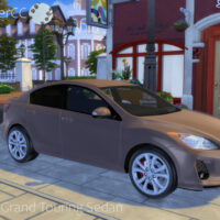 2012 Mazda 3 Sims 4 Car 1