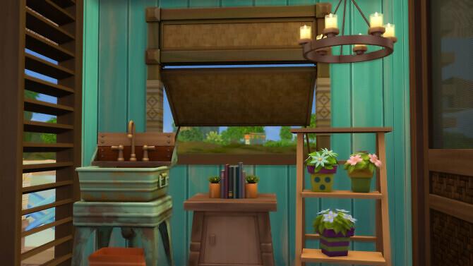 Sims 4 Micro Island Starter at SimKat Builds