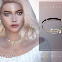 Pearl Necklace 202102 By S-club Ll