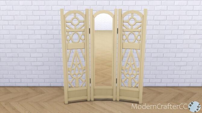 Sims 4 The Emperor's Mirror Recolour V2 at Modern Crafter CC