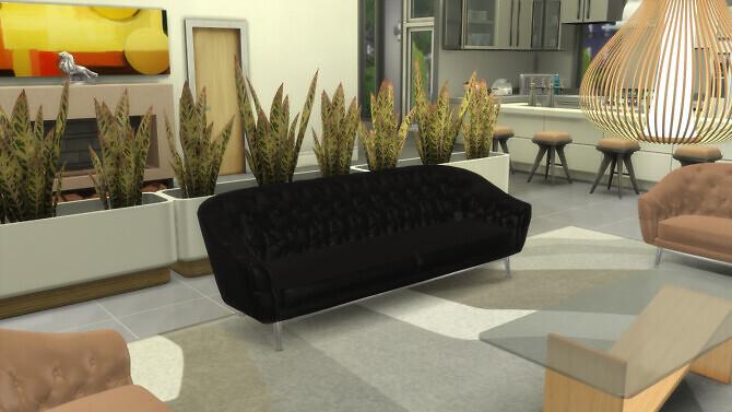 Sims 4 Design Sofa SoChic at OceanRAZR