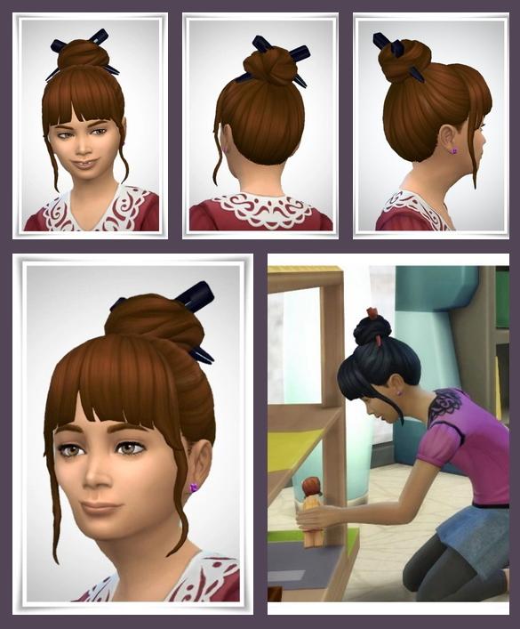 Sims 4 Kiya Kids & Toddler Hair at Birksches Sims Blog