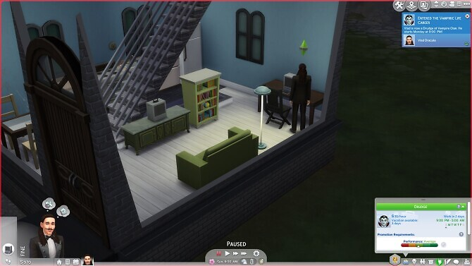 Sims 4 Vampire Life Career by RayBreeder7 at Mod The Sims