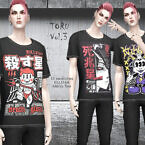 Toru Vol. 3 T-shirt By Helsoseira