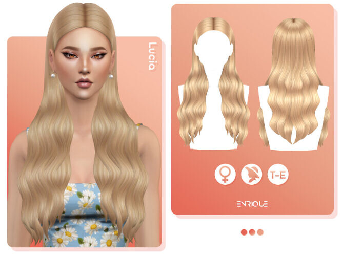 Lucia Hairstyle By Enriques4