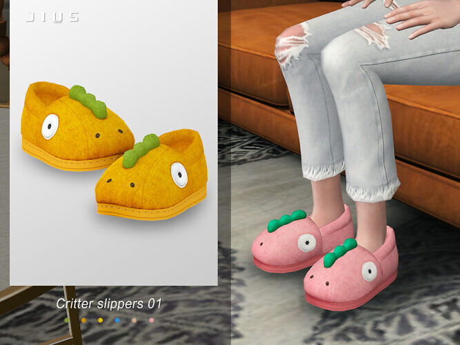 Critter Slippers 01 By Jius