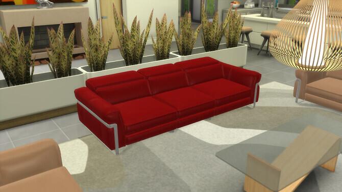 Sims 4 Design Sofa DeSilvio at OceanRAZR
