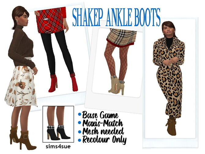 SHAKEPS ANKLE BOOTS