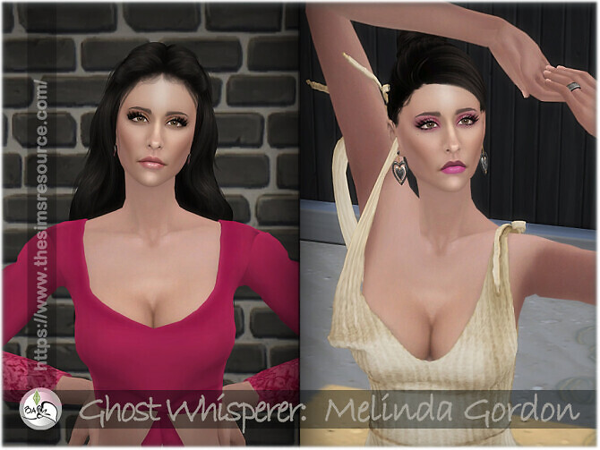 Sims 4 Ghost Whisperer   Melinda Gordon by BAkalia at TSR