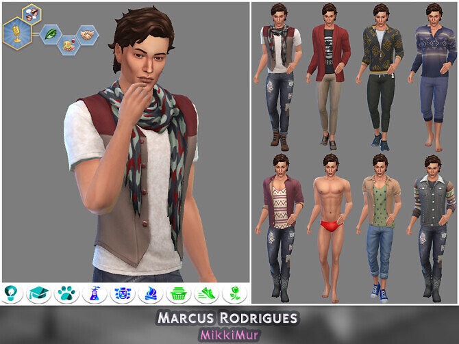 Sims 4 Male Townies for StrangerVille at MikkiMur