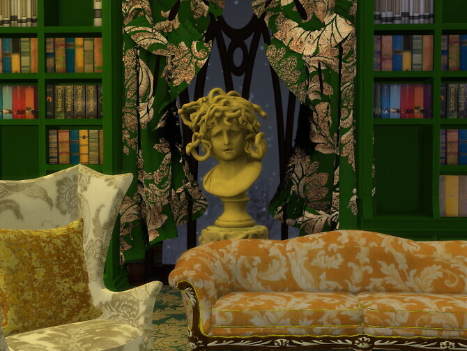 Sims 4 The Greek Room Sculptures & Busts at Anna Quinn Stories