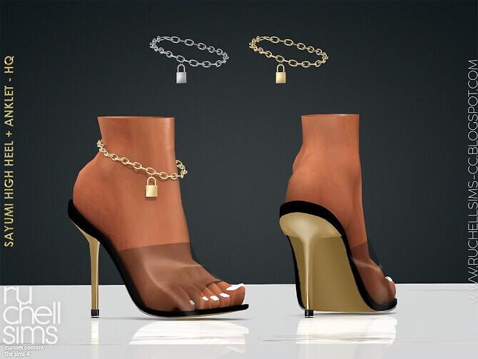Sayumi high heels