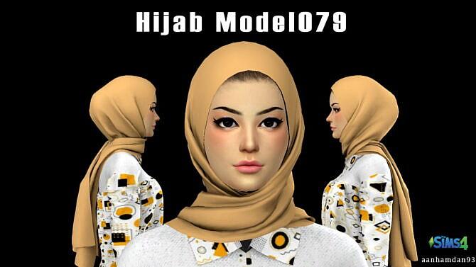 Sims 4 Hijab Model079 & Anata SET at Aan Hamdan Simmer93