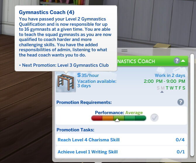 Sims 4 Gymnastics Coaching Career by Naomiking3 at Mod The Sims