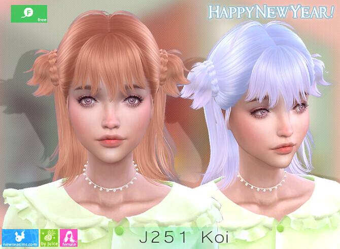 J251 Koi hair