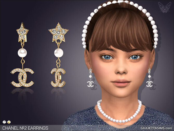 Sims 4 Earrings №2 For Kids at Giulietta