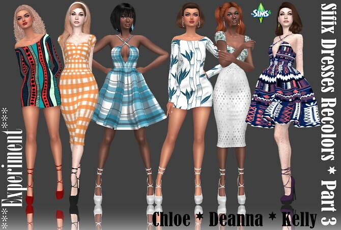 Sifix Dresses Recolors Part 3 at Annett's Sims 4 Welt image 2484 670x452 Sims 4 Updates