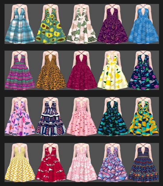 Sifix Dresses Recolors Part 3 at Annett's Sims 4 Welt image 2503 Sims 4 Updates