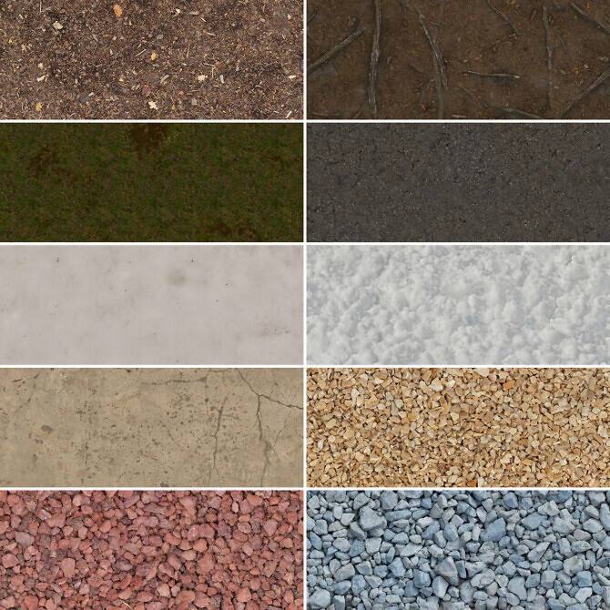 Sims 4 Outdoor flooring set at Simspiration Builds