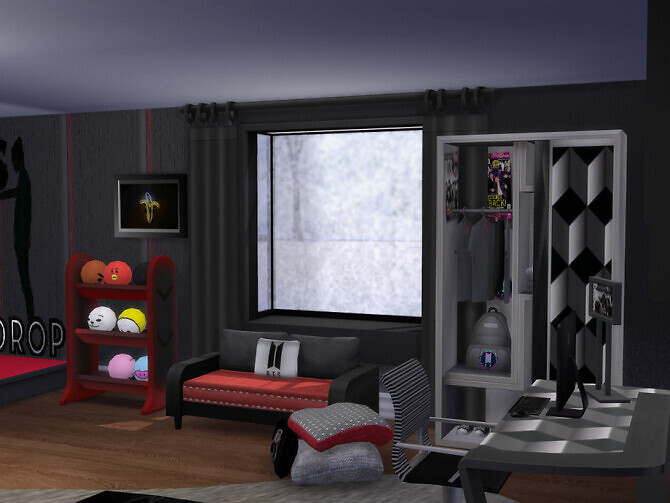 Sims 4 Mad On BTS Teen Set by seimar8 at TSR