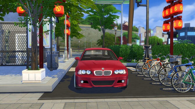 Sims 4 2005 BMW M3 E46 at Modern Crafter CC