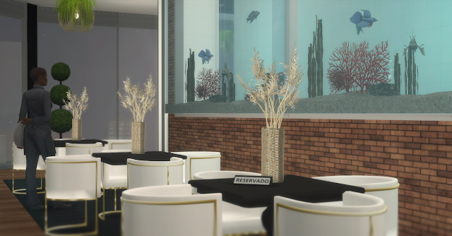 Sims 4 The Sky Bar & Restaurant at Lily Sims