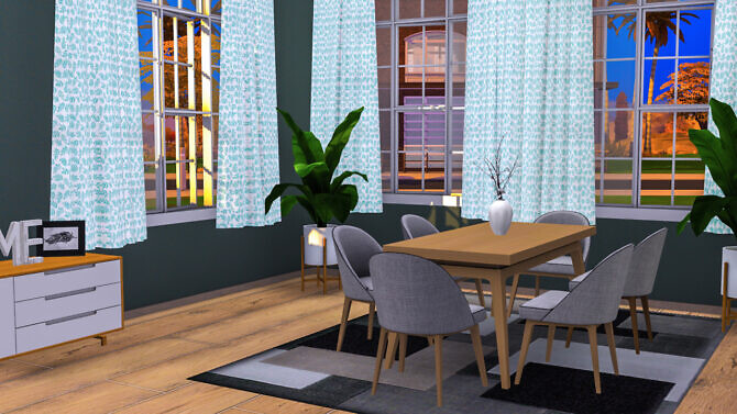 Sims 4 Oakley Dining at Sunkissedlilacs