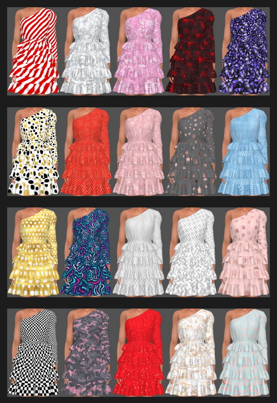 Sifix Dress Recolors Part 2 at Annett's Sims 4 Welt image 2572 Sims 4 Updates