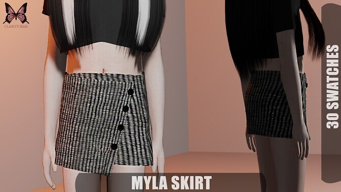 Myla Skirt at Clarity Sims image 2582 670x377 Sims 4 Updates