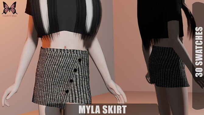 Myla Skirt at Clarity Sims image 2592 670x377 Sims 4 Updates