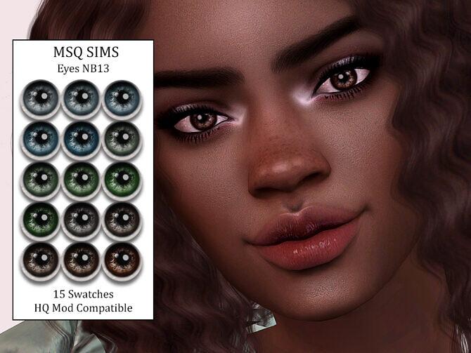 Sims 4 Eyes NB13 at MSQ Sims