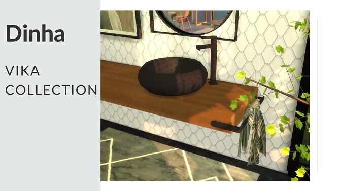 Sims 4 Vika Collection at Dinha Gamer