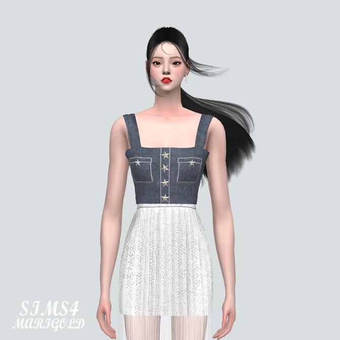 Sims 4 Star Bustier at Marigold