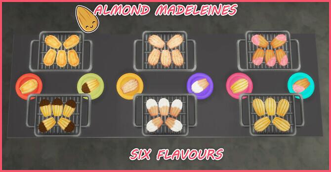 Sims 4 ALMOND MADELEINE at Icemunmun