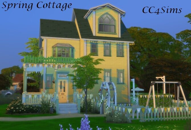 Sping Cottage By Christine