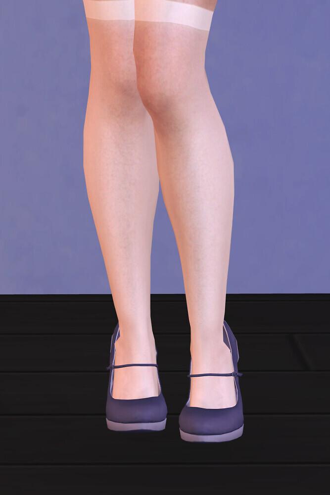 Sims 4 Mary Jane High Heels REMASTER at Astya96