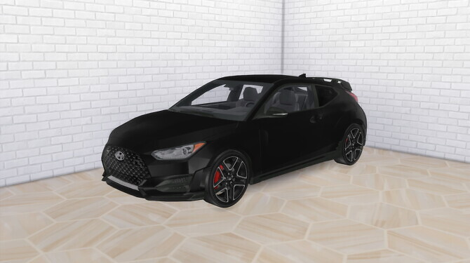 Sims 4 2020 Hyundai Veloster N at Modern Crafter CC