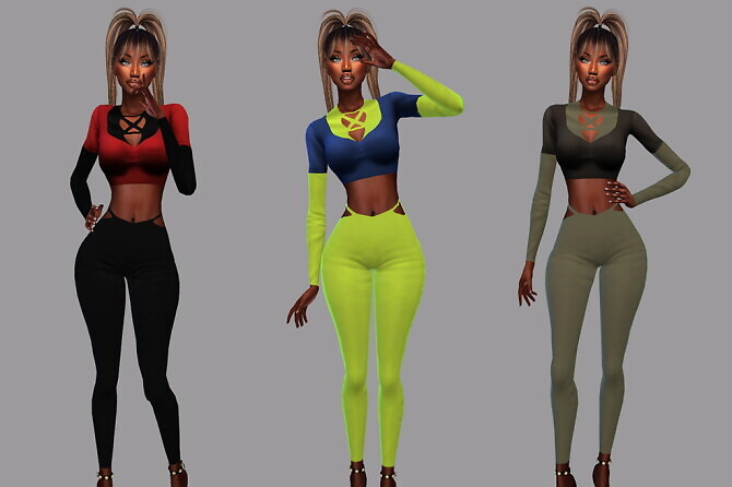 ACC Crop Over for We Go Wild Outfit at Teenageeaglerunner image 2862 670x446 Sims 4 Updates