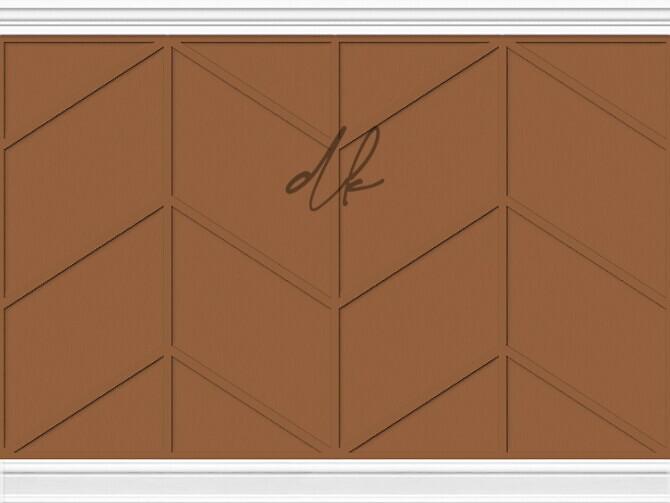 Sims 4 Wood Panel Feature Walls at DK SIMS