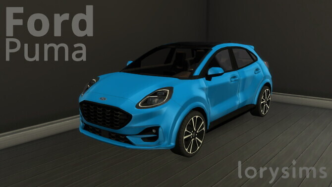 Ford Puma ST Line at LorySims image 2882 670x377 Sims 4 Updates