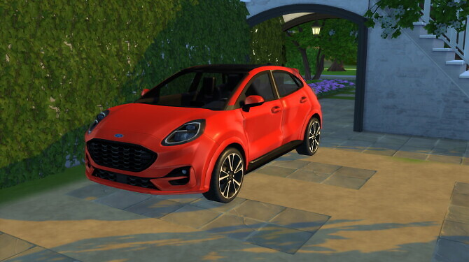 Ford Puma ST Line at LorySims image 2892 670x375 Sims 4 Updates