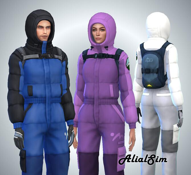 Sims 4 Snowsuit Extreme at Alial Sim