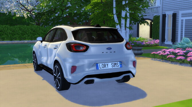 Sims 4 Ford Puma ST Line at LorySims